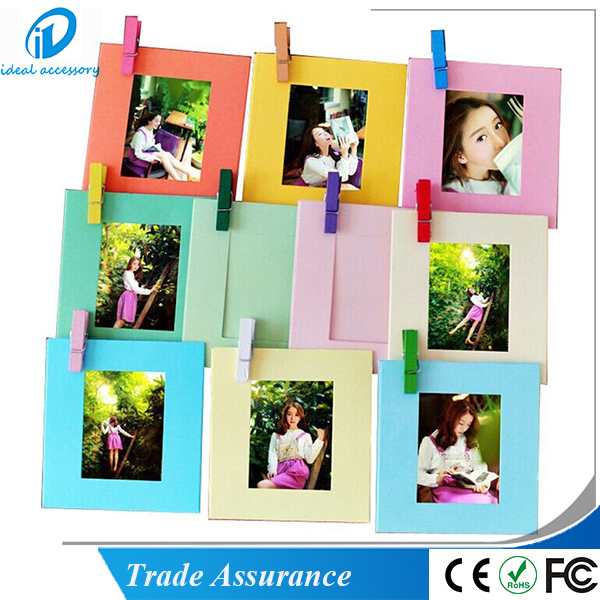 Instax Film 3inch Photo Frame with Clips